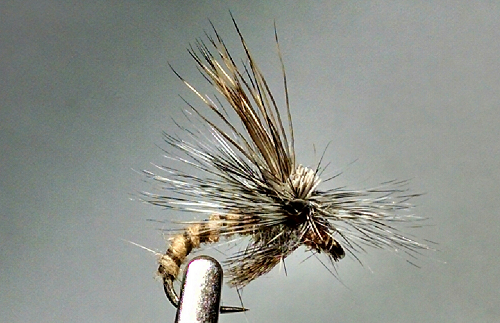 3 X CDC OLIVE MINI KLINKHAMMERS DRY TROUT FLIES sizes10,12,14,16 available